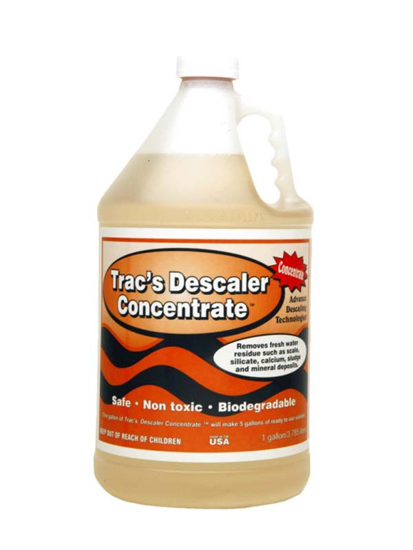 Trac's Descaler Concentrate